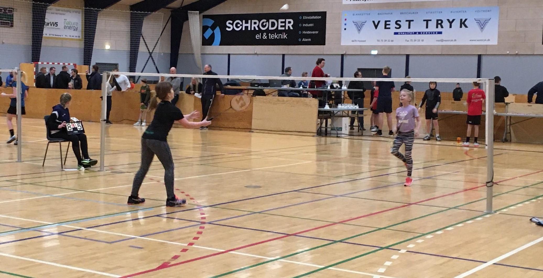 Badminton stævne 1/2-2020